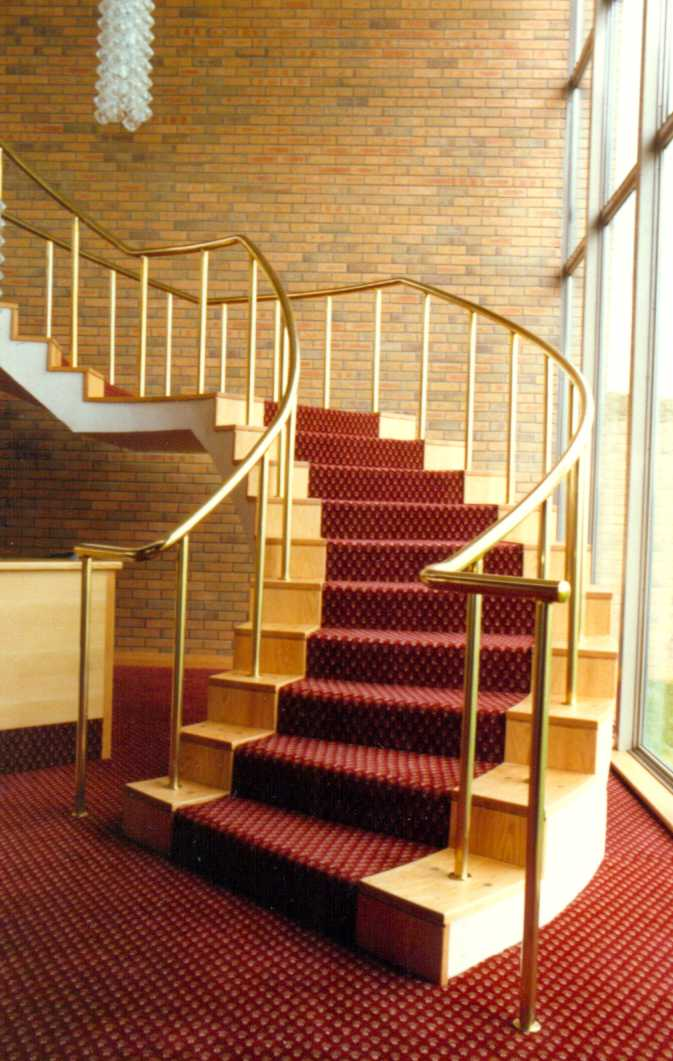 Citadel Brass Handrail And Balustrade System