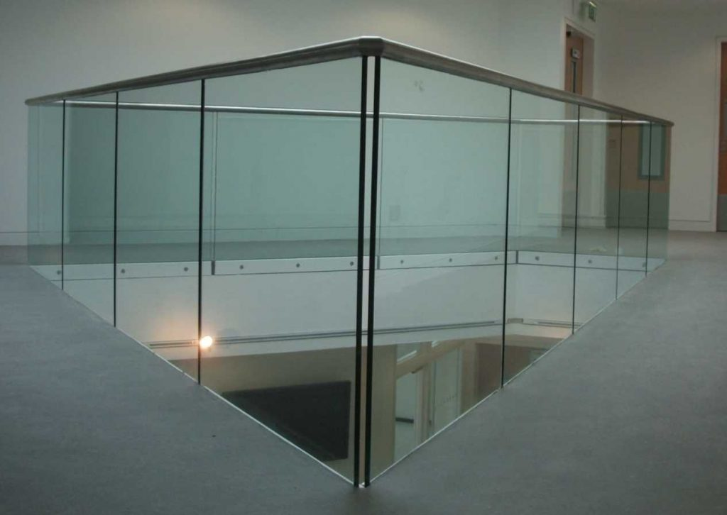 Glass Balustrade atrium