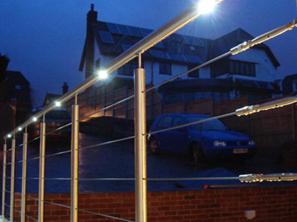 illumine LED Handrails