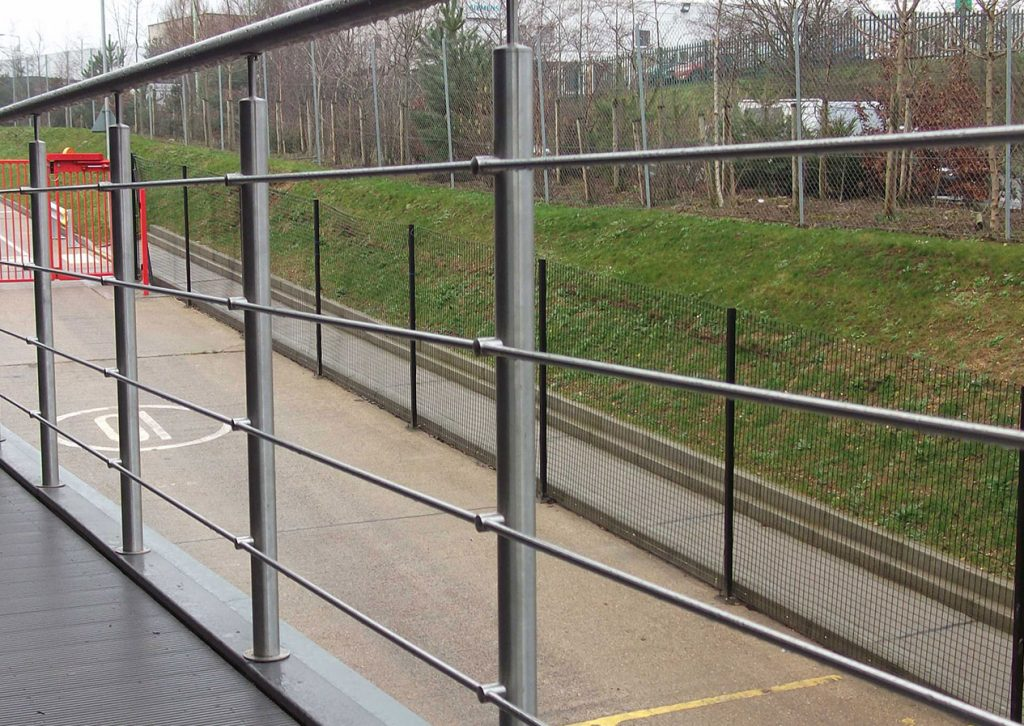 Sentinel stainless steel handrail