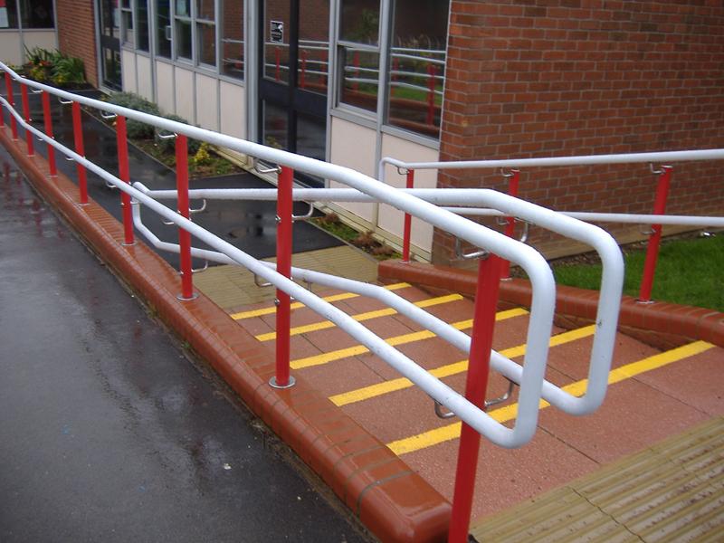 Red Stargard Handrail