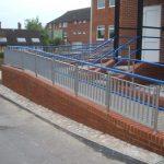 DDA compliant handrails