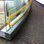 curved dda handrails