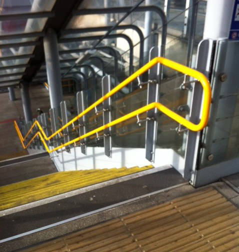 DDA Handrail at station