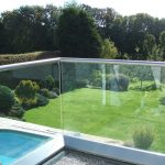 Glass garden balcony