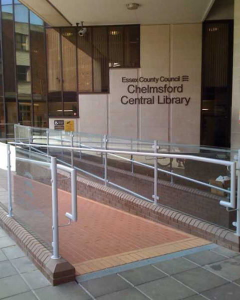 Entrance Balustrade at Public Library