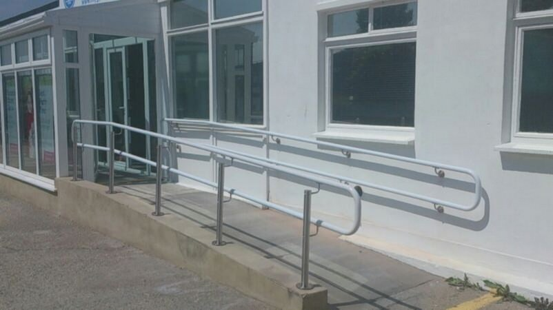 External Healthcare handrail