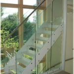 Glassrail balustrade on residential staircase