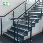Warm to touch handrail for education setting