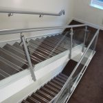 Hospital Staircase handrail and balustrade