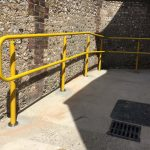 external handrail