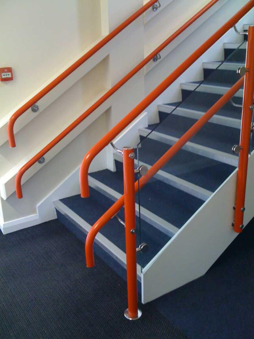 Warm To Touch Handrail Pvc Handrail Dda Handrail